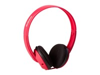 Skullcandy Uprock Mic'd Pink Black Black Headphones Red