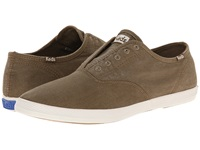 Keds Champion Chillax Washed Twill Brown Men's Slip On Shoes