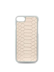 Gigi New York Python Embossed Leather Iphone 7 Case Almond