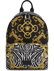 Versace Medusa Backpack Black Gold