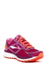 Brooks Ghost 8 Running Shoe Wide Width Available Purple