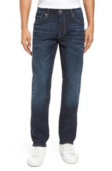 Vigoss Men's Slim Straight Leg Jeans Medium Wash
