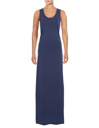 Tommy Bahama Tambour Tank Gown Deep Ocean