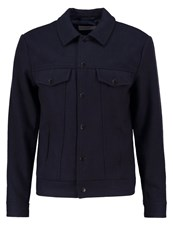Kiomi Summer Jacket Navy Melange Mottled Dark Blue