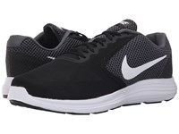 Nike Revolution 3 Dark Grey Black White Men's Running Shoes Gray