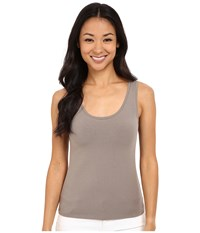 Nic Zoe Petite Perfect Tank Mushroom Women's Sleeveless Gray