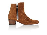 Amiri Women's Suede Ankle Boots Brown