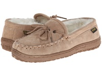 Old Friend Loafer Moc Chestnut W Natural Fleece Women's Shoes Beige