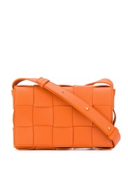 Bottega Veneta Cassette Bag Orange