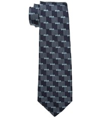 Cufflinks Inc. Batman Logo Pinstripe Tie Navy Ties