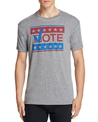 Kid Dangerous Voter Participation Tee Med Gray