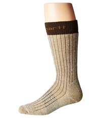 Carhartt Steel Toe Arctic Wool Boot Sock Brown Men's Crew Cut Socks Shoes