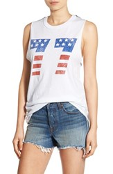 Project Social T Women's '77 Americana' Graphic Muscle Tee