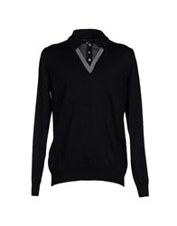Mas_Q Knitwear Jumpers Men Black