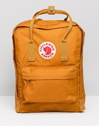 Fjall Raven Fjallraven Classic Kanken Backpack In Yellow