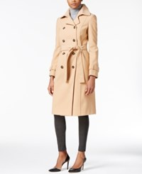Calvin Klein Double Breasted Trench Coat Only At Macy's Camel