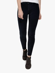 Fat Face Five Pocket Cord Jeggings Black