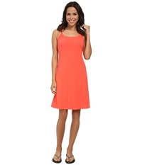 Prana Quinn Dress Neon Orange Women's Dress