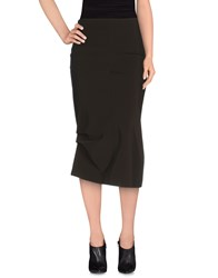 Gunex Skirts 3 4 Length Skirts Women Dark Brown
