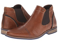 Dune Chili Tan Leather Men's Lace Up Boots