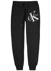 Calvin Klein Origins Black Jersey Lounge Trousers