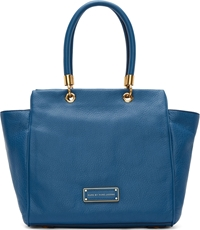 Marc By Marc Jacobs Blue Leather Bentley Shoulder Bag
