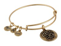 Alex And Ani Fleur De Lis Iii Charm Bangle Gold Bracelet