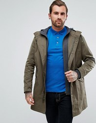 Boss Orange By Hugo Odrax Double Layer Parka In Khaki Khaki 309 Green