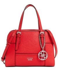 Guess Huntley Small Cali Satchel Poppy