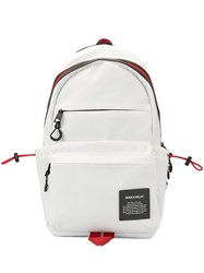 Makavelic Shuttle Backpack White