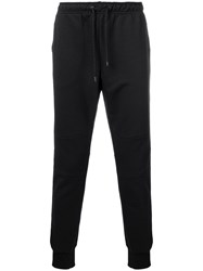 Fendi Drawstring Waist Track Pants Black