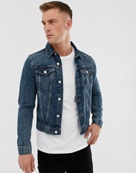 New Look Denim Jacket Navy