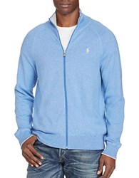 Polo Ralph Lauren Cotton Full Zip Sweater Vineyard