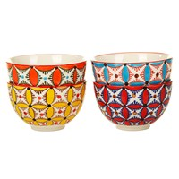Pols Potten Colour Hippy Bowls Set Of 4
