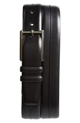 Mezlan Palma Leather Belt Black