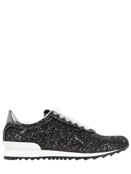 Casadei Limited Edition Glittered Sneakers Black
