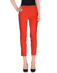 Angelo Marani Trousers Casual Trousers Women Red