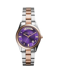 Stainless Steel Rose Golden Colette Watch Michael Kors