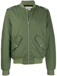 Zadig And Voltaire Benet Bomber Jacket Green