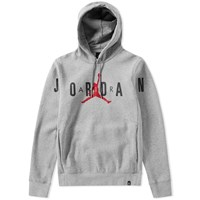 Nike Jordan Brand Flight Fleece Graphic Hoody Grey