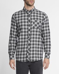 Carhartt White And Green Checked Shawn Flannel Shirt