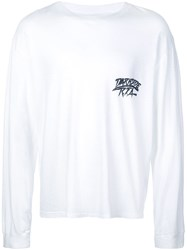 Rta Back Logo T Shirt White