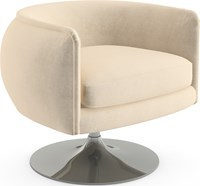 Knoll D Urso Swivel Lounge Chair Multicolor
