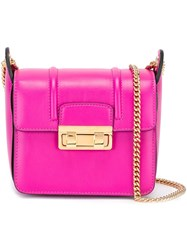 Lanvin 'Jiji' Crossbody Bag Pink And Purple