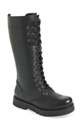 Bos. And Co. Portage Waterproof Lace Up Boot Black Leather