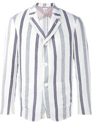 Thom Browne Striped Blazer Multicolour