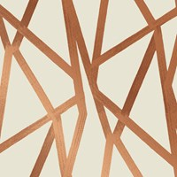 Tempaper Intersections Removable Wallpaper Light Brown