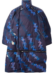 Henrik Vibskov 'Around Down' Coat Blue