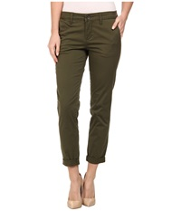 Kut From The Kloth Ankle Trousers Olive Women's Casual Pants