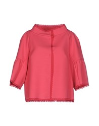 Red Valentino Redvalentino Suits And Jackets Blazers Women Coral